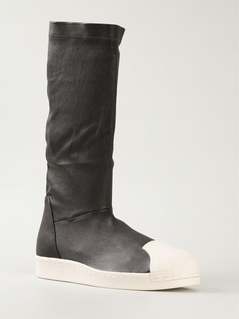 rick owens sneaker boots in black for men lyst. Black Bedroom Furniture Sets. Home Design Ideas