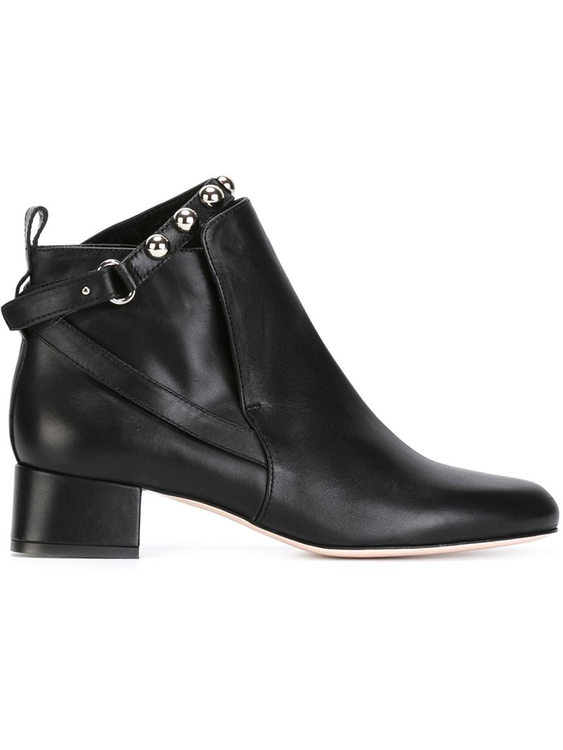 free shipping footlocker Red Valentino studded heel boots clearance visit cheap sale real pay with paypal online pick a best sale online wO0CQV7Uqo