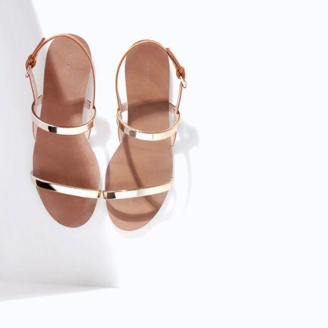 Zara Sandals Flat 12