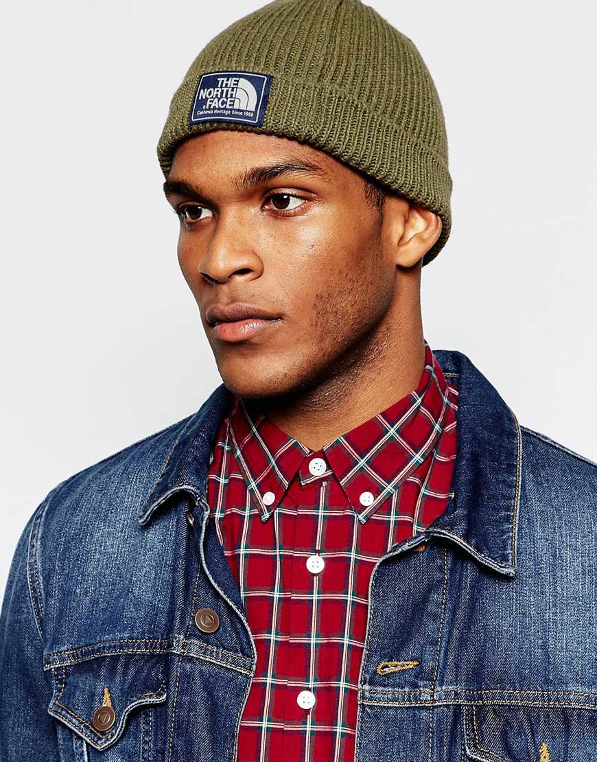 3b993464752 Lyst - The North Face Shipyard Beanie Hat in Green for Men