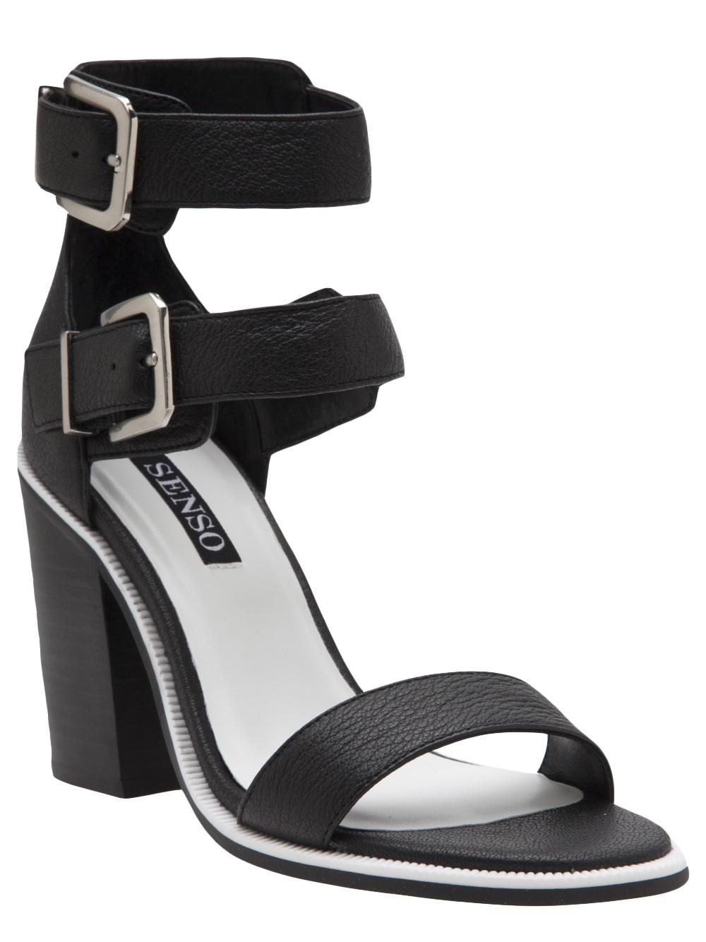 4937aa131f16 Lyst - Senso Robyn Heel in Black