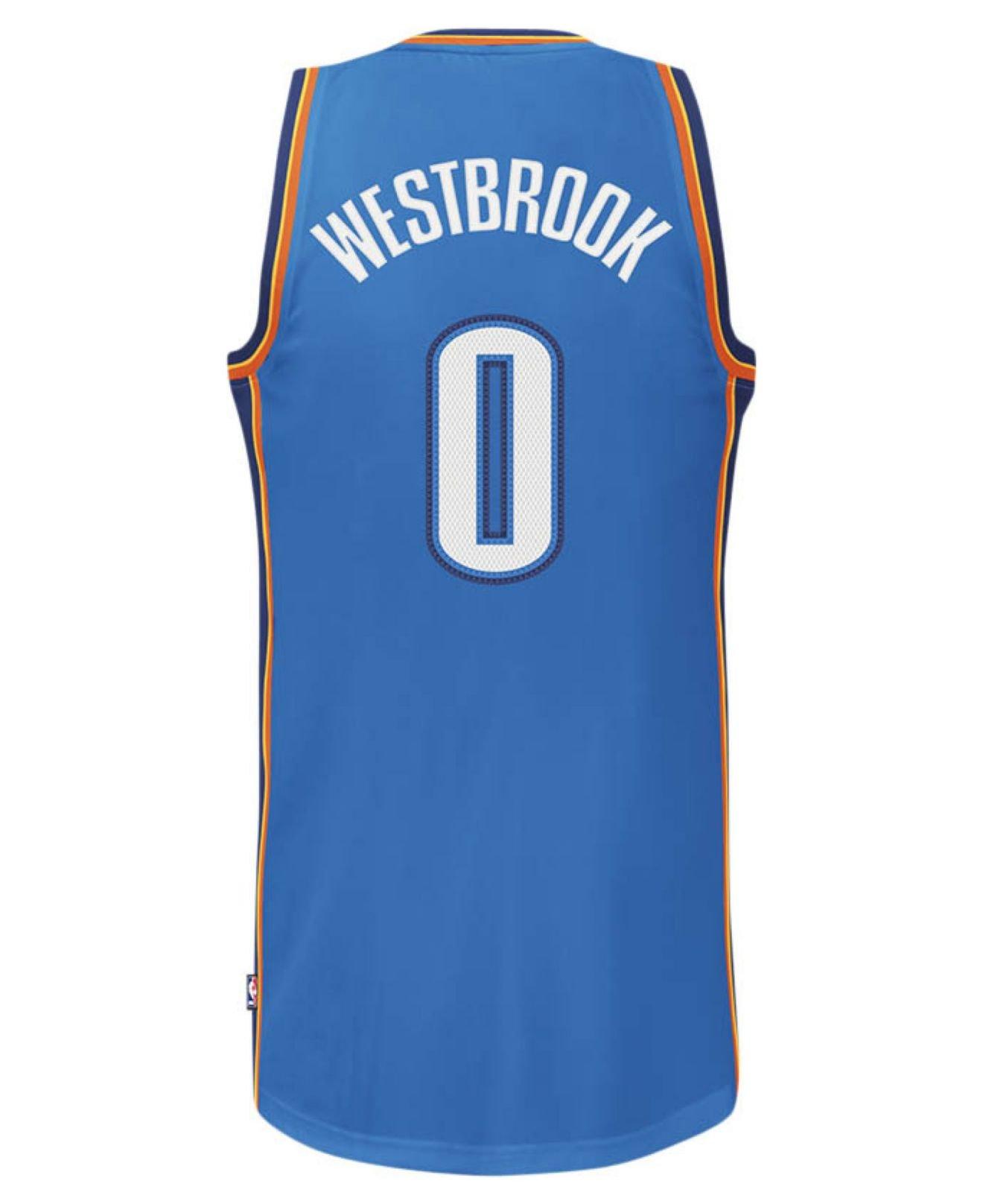 6c099118a ... australia lyst adidas mens oklahoma city thunder russell westbrook  jersey 29a71 24aab