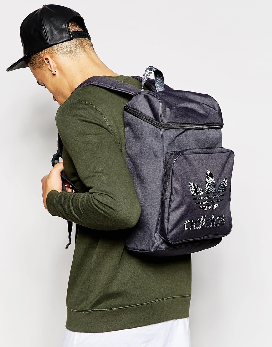 f4291f0f2089 Lyst - Adidas Originals Classic Backpack Ab2672 in Gray for Men