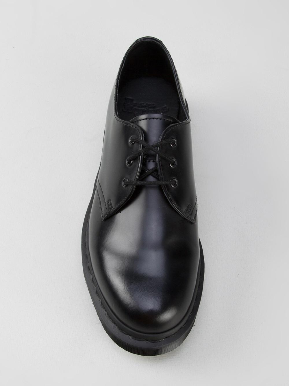 Black 1461 Mono Derbys Dr. Martens e0Y7sr