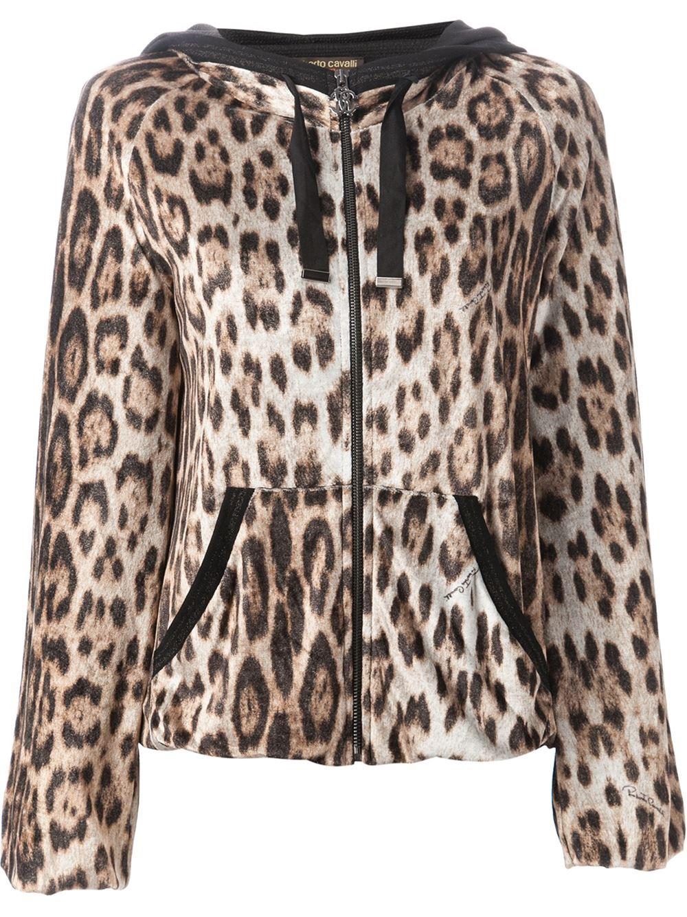 Zebra print hoodie