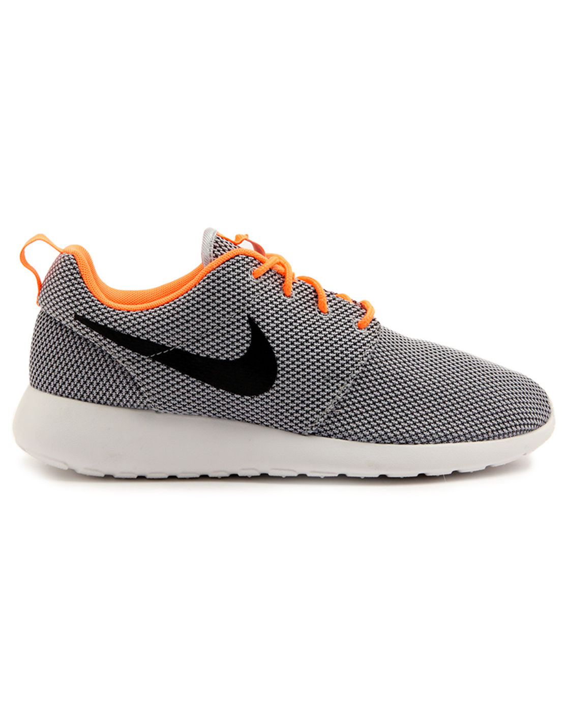 nike roshe run grey sneakers in gray for men lyst. Black Bedroom Furniture Sets. Home Design Ideas