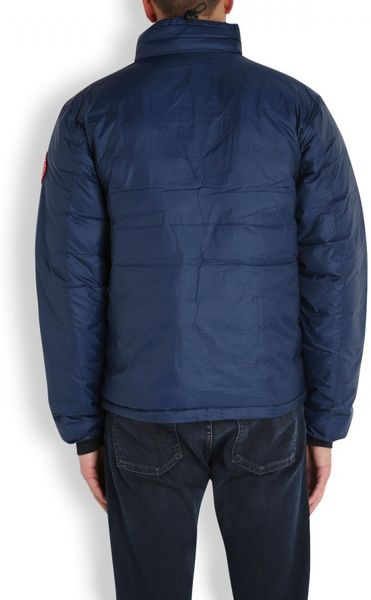 Canada Goose Lodge Quilted Shell Jacket In Blue For Men Lyst