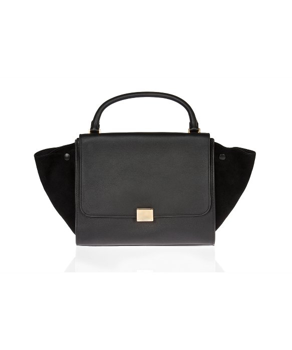 celine-black-black-leather-smooth-medium
