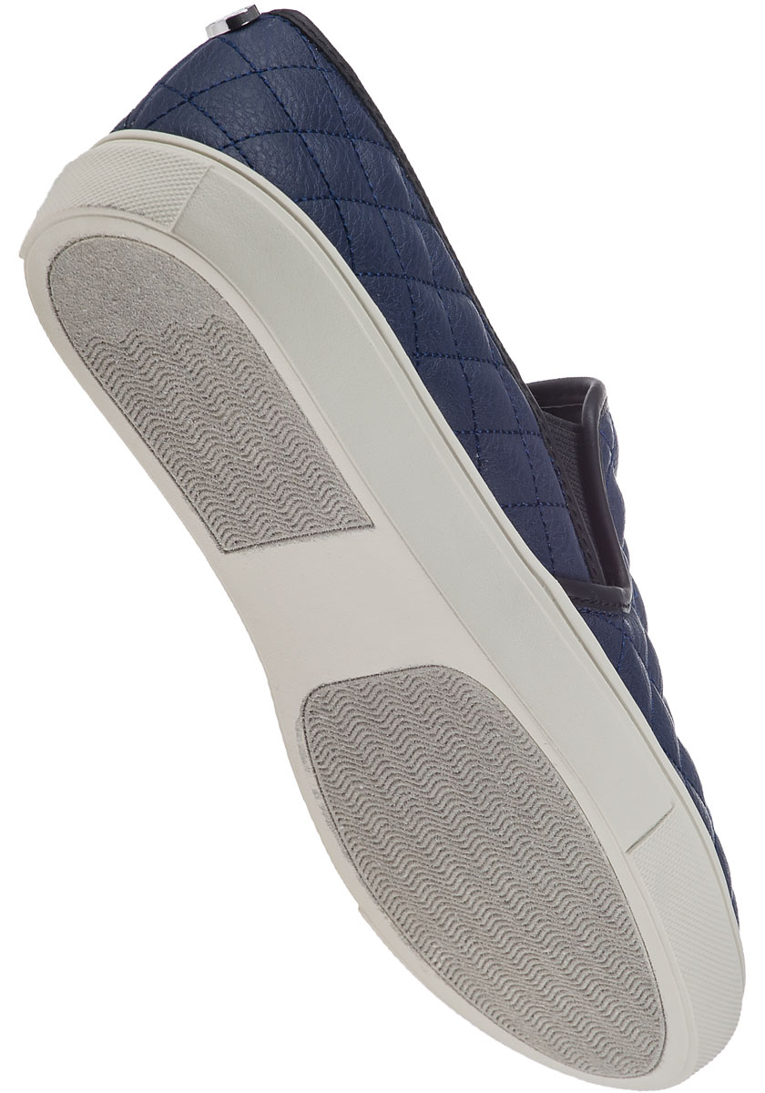 Lyst Steve Madden Ecentrcq Slip On Sneaker Navy In Blue