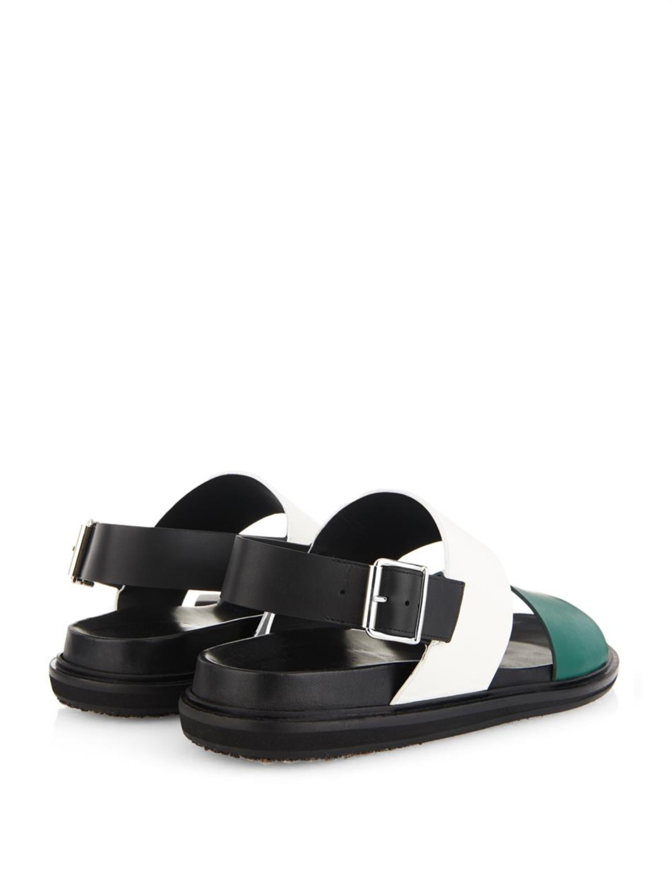 Marni Leather Flip Flops Discount Low Cost Free Shipping Good Selling Discount 2018 Footlocker Pictures Online 22xU7iP