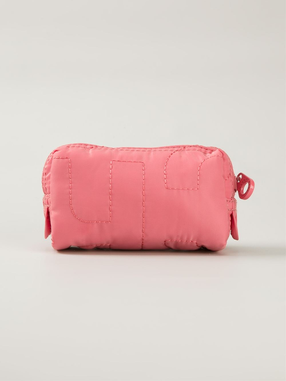 Lyst Marc By Marc Jacobs Quilted Cosmetic Bag In Pink