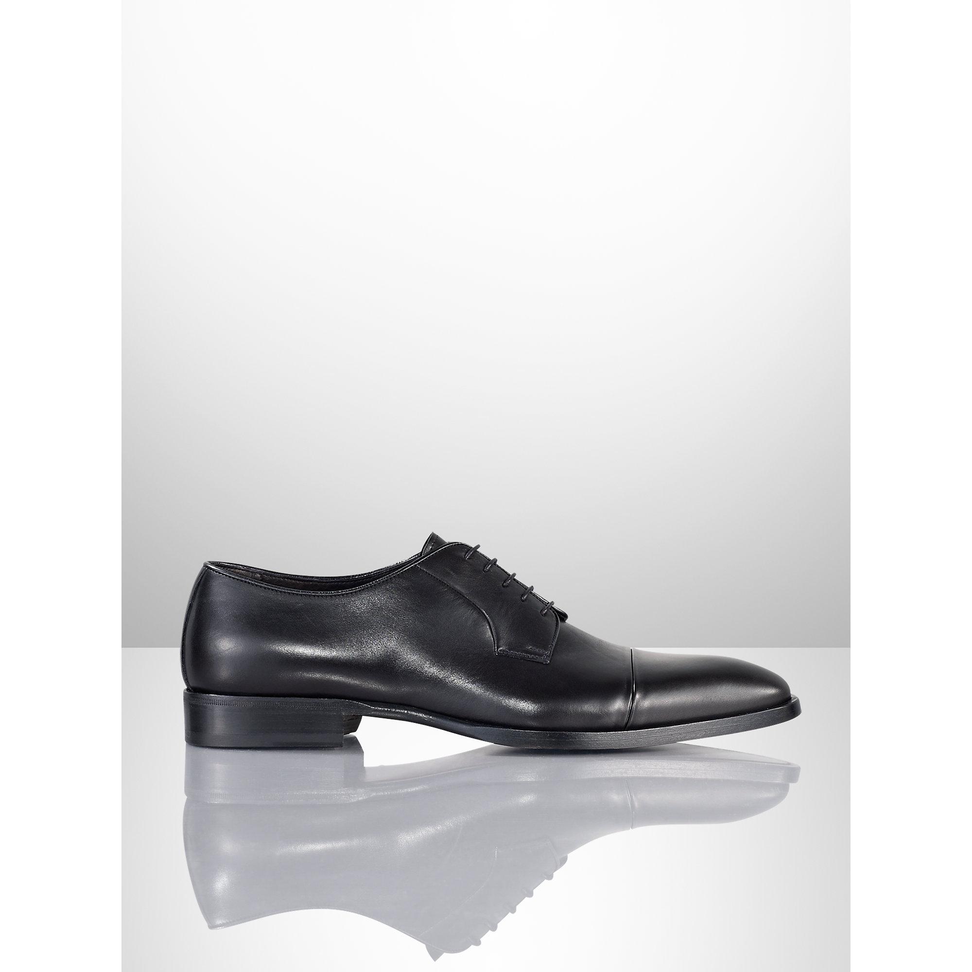 Pink pony Gittens Calfskin Dress Shoe in Black for Men