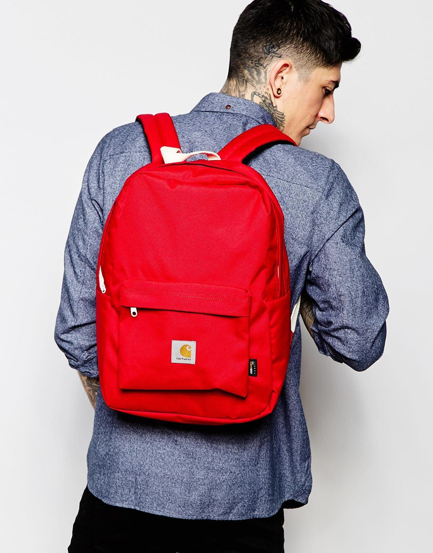 Lyst - Carhartt WIP Carhartt Watch Backpack in Red for Men