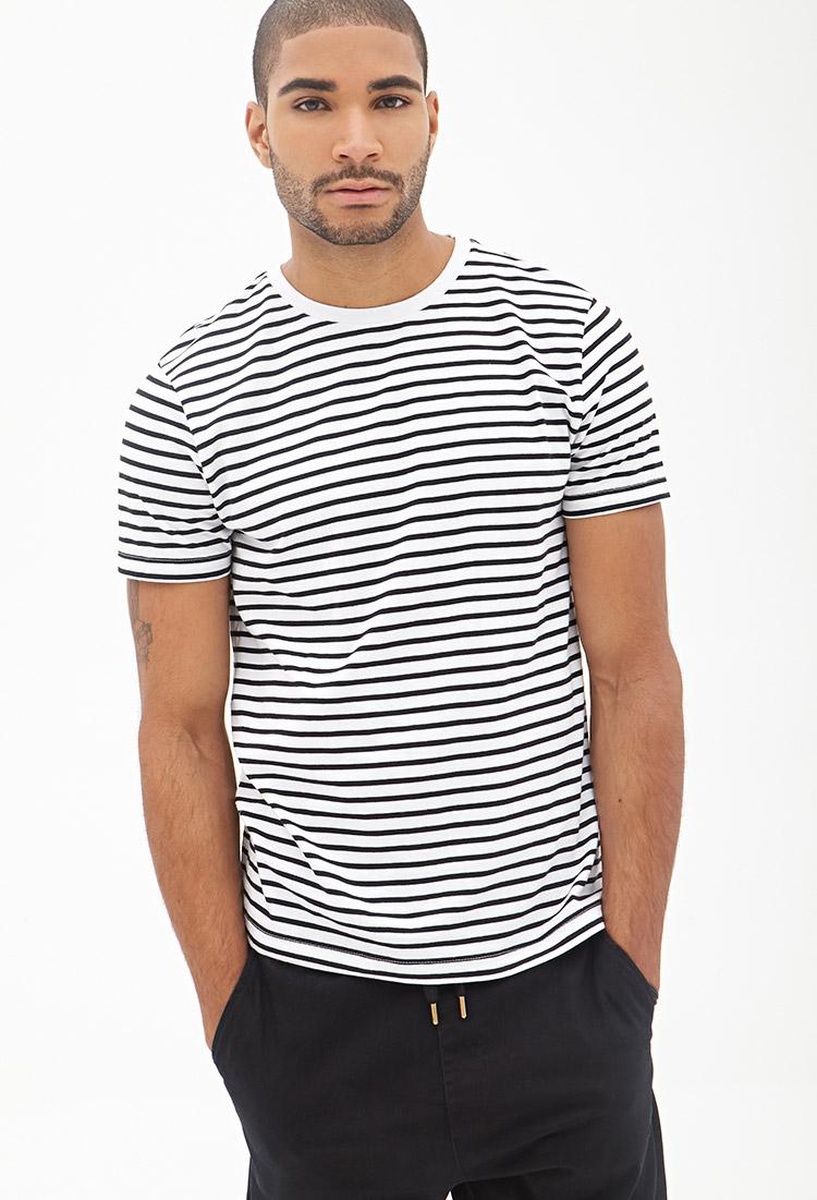 Shop Old Navy's Striped Slub-Knit V-Neck Tee for Men: V-neck.,Short sleeves.,All-over striped pattern.,Soft, slub-knit cotton jersey. Skip to top navigation Skip to shopping bag Skip to main content Skip to footer links.