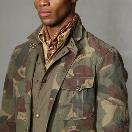 Lyst Polo Ralph Lauren Desert Camouflage Sport Coat In