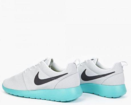 nike grey roshe one qs sneakers in multicolor for men lyst. Black Bedroom Furniture Sets. Home Design Ideas