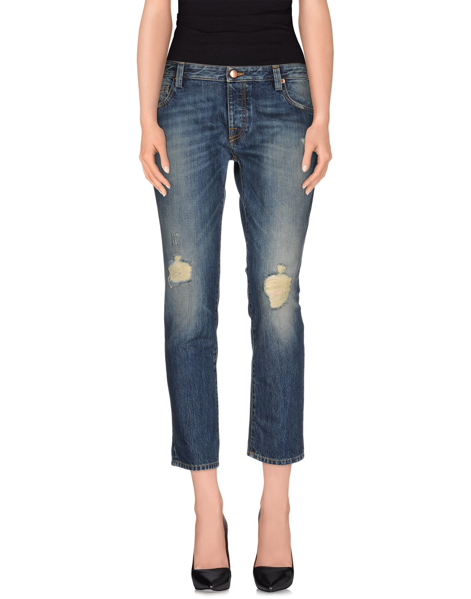 DENIM - Denim trousers Teresa Dainelli