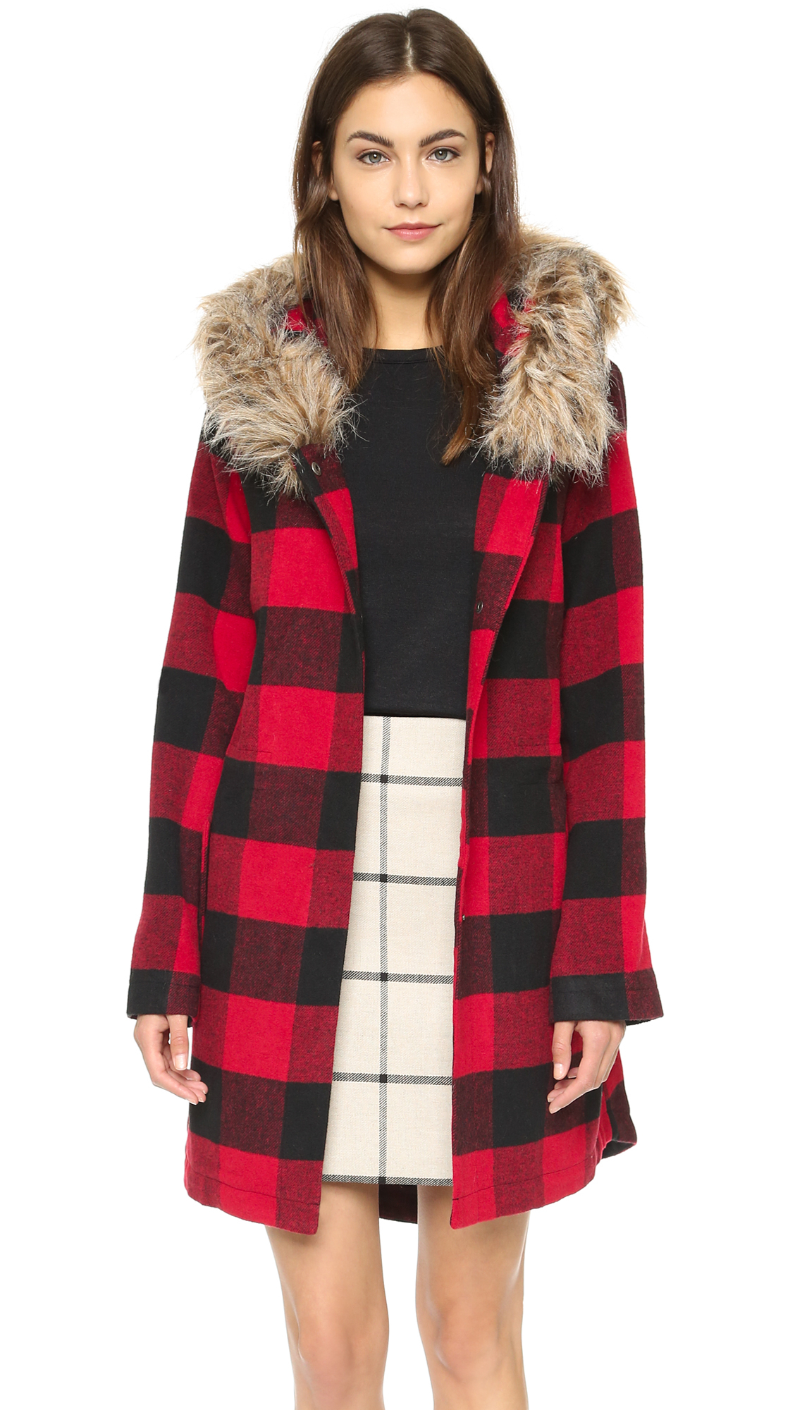 Fleece-Mountain Red Buffalo Plaid- Toddler Boys Zing III Fleece Jacket At The Buzzer Polar Fleece Boys Jacket. by At The Buzzer. $ $ 19 99 Prime. Red Buffalo Check Polar Fleece Jacket with White Sherpa Lining YONYWA Womens Buffalo Plaid Cardigans Long Sleeve Elbow Patch Draped Open Front Cardigan Sweater. by YONYWA.