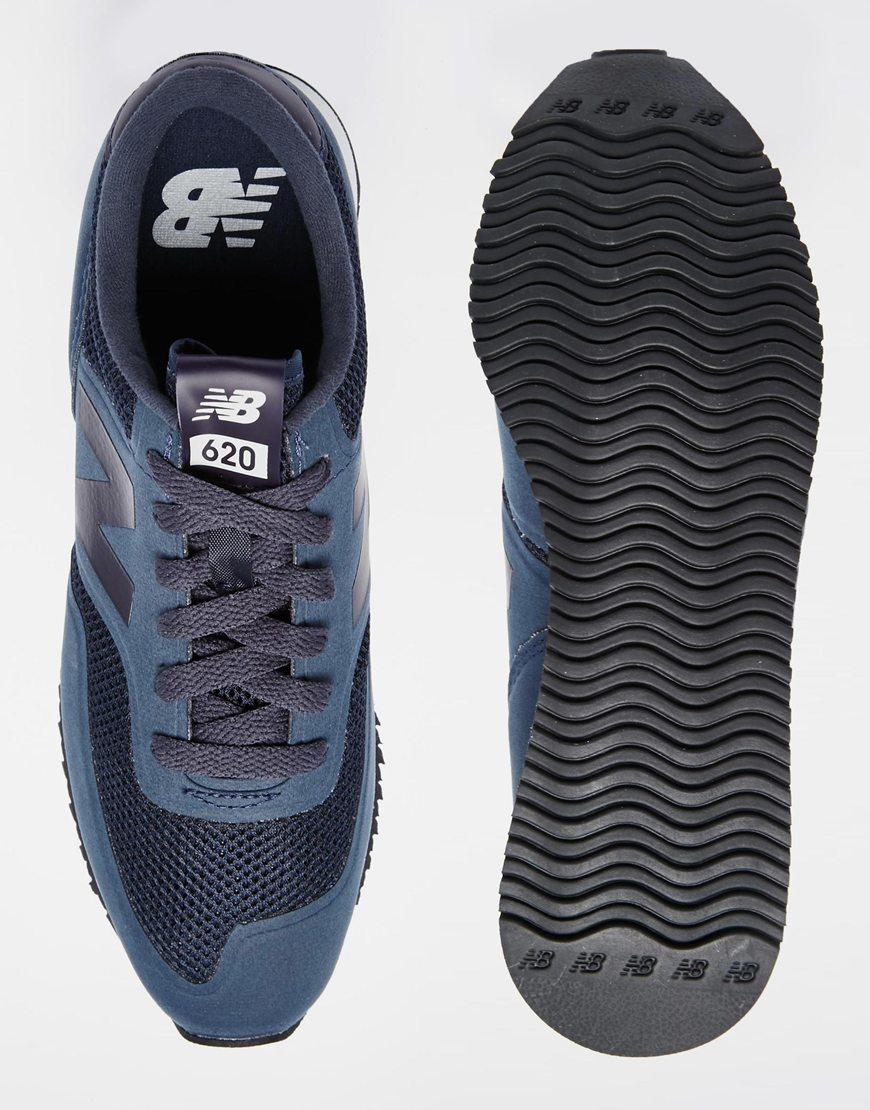 new balance 620 trainers blue