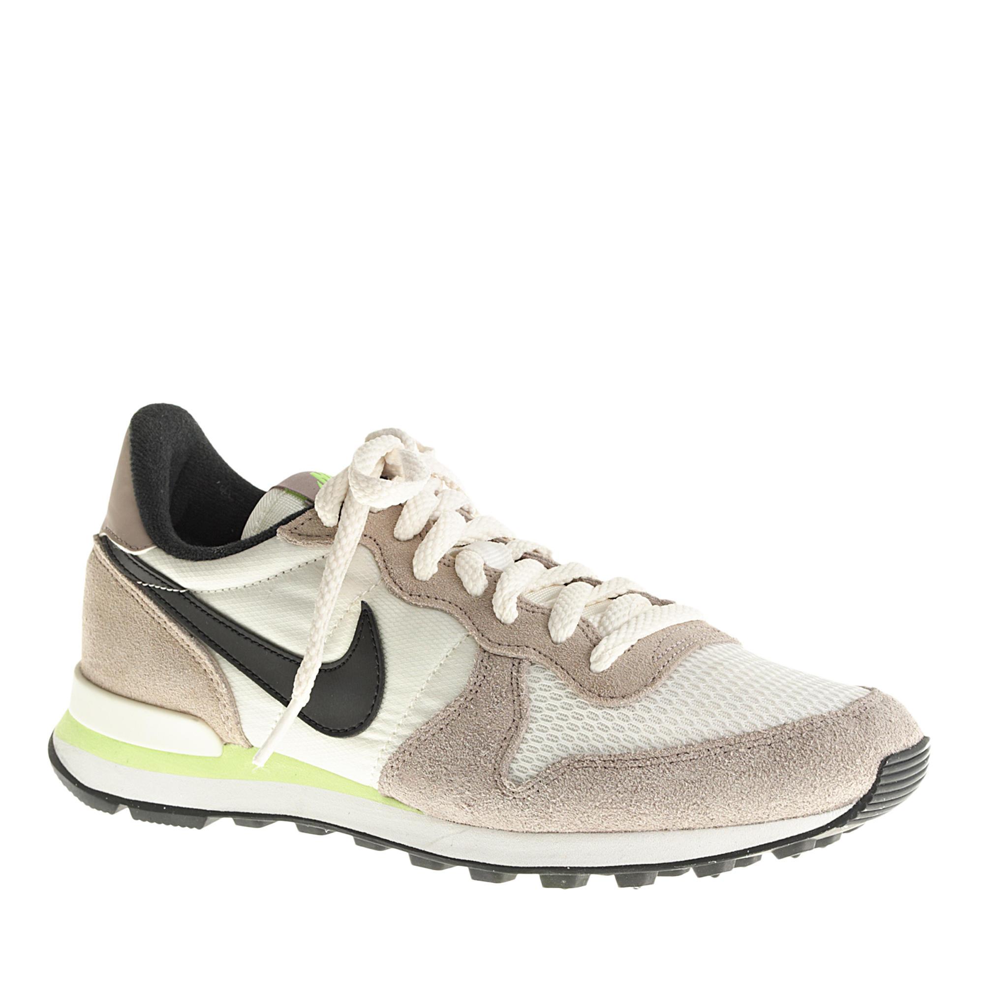 Lyst - J.Crew Women s Nike Internationalist Sneakers in Brown 7f1317885
