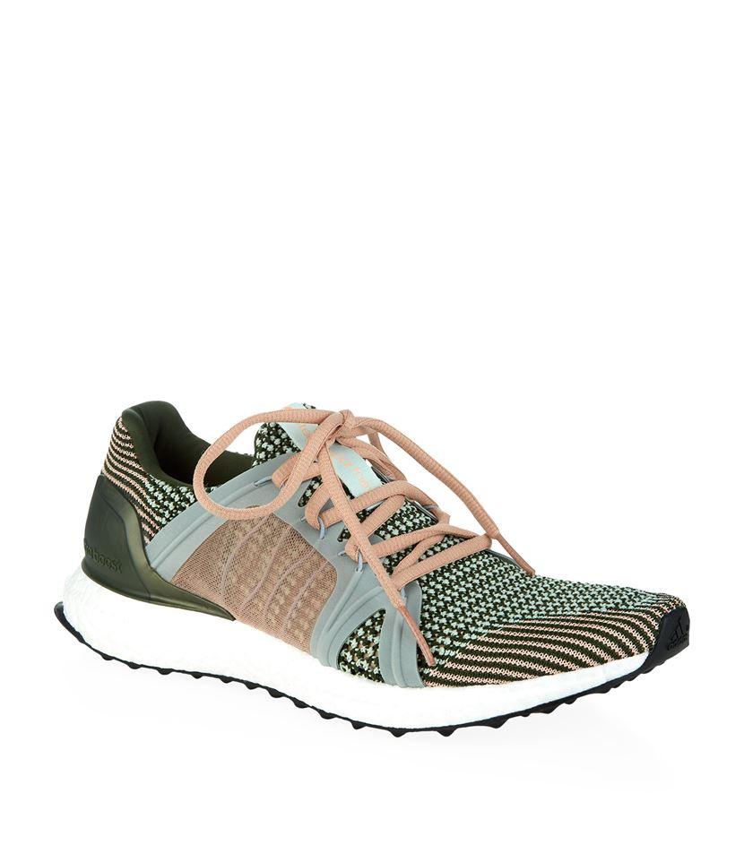 10dc25d03 adidas By Stella McCartney Ultra Boost Knit Sneaker in Green - Lyst