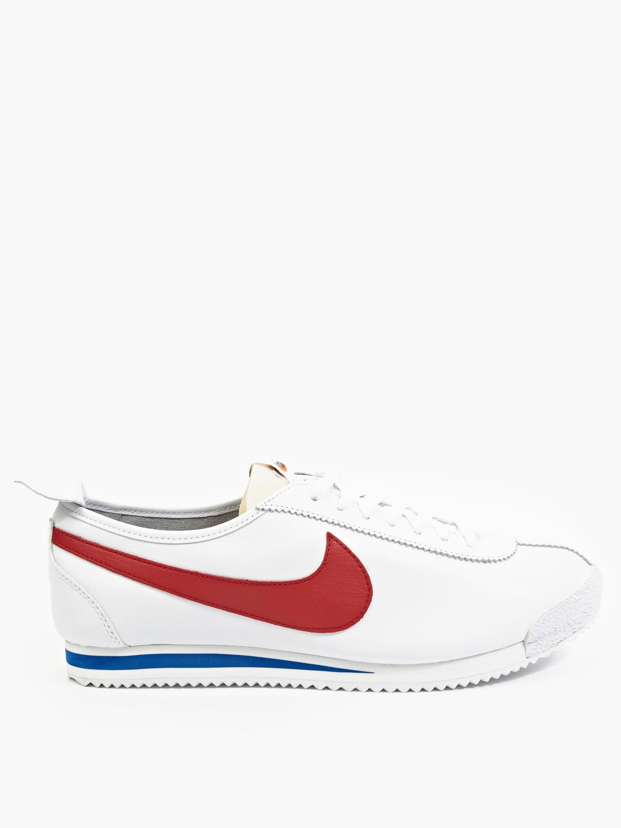 nike white leather cortez 39 72 sp sneakers in white for men. Black Bedroom Furniture Sets. Home Design Ideas