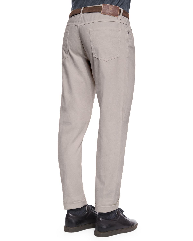 Cotton pants Brunello Cucinelli Przi11cz4