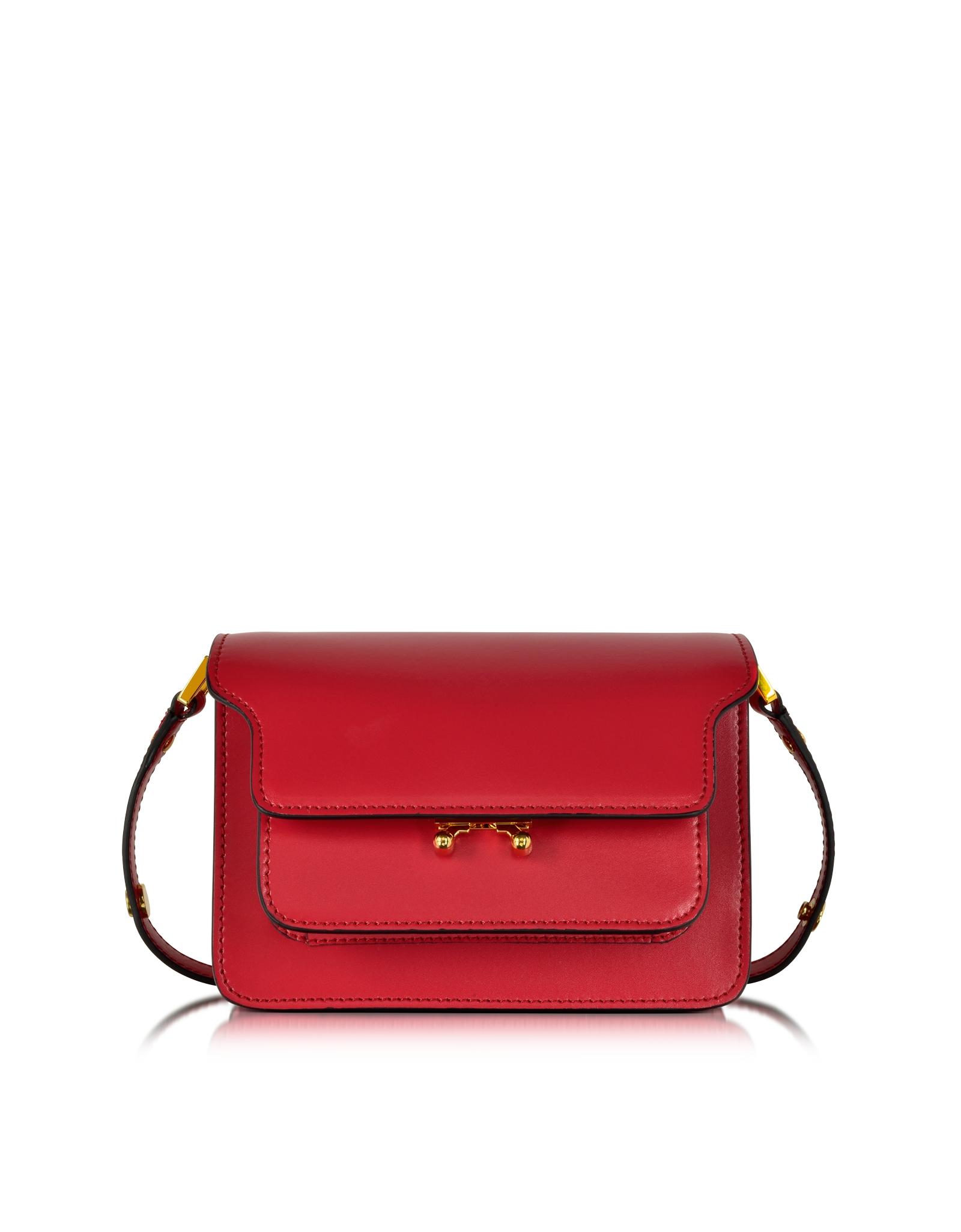 small Trunk crossbody bag - Red Marni gVlkfGsaDP
