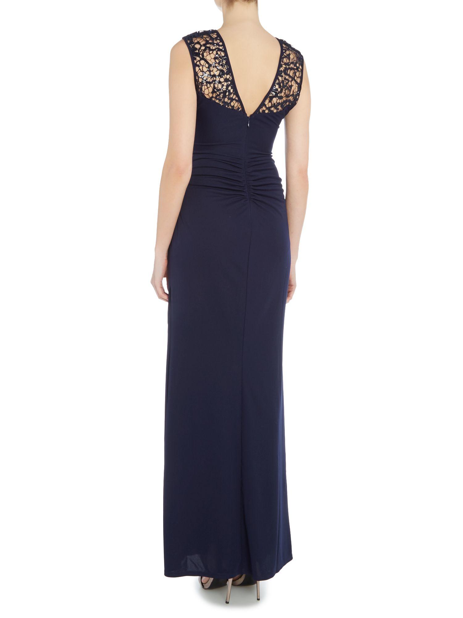Lipsy maxi dress blue amazon