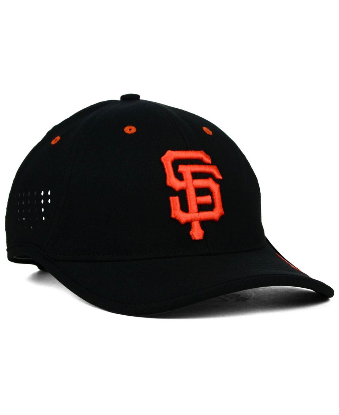 81ab8e6e7b114 Lyst - Nike San Francisco Giants Vapor Swoosh Adjustable Cap in ...