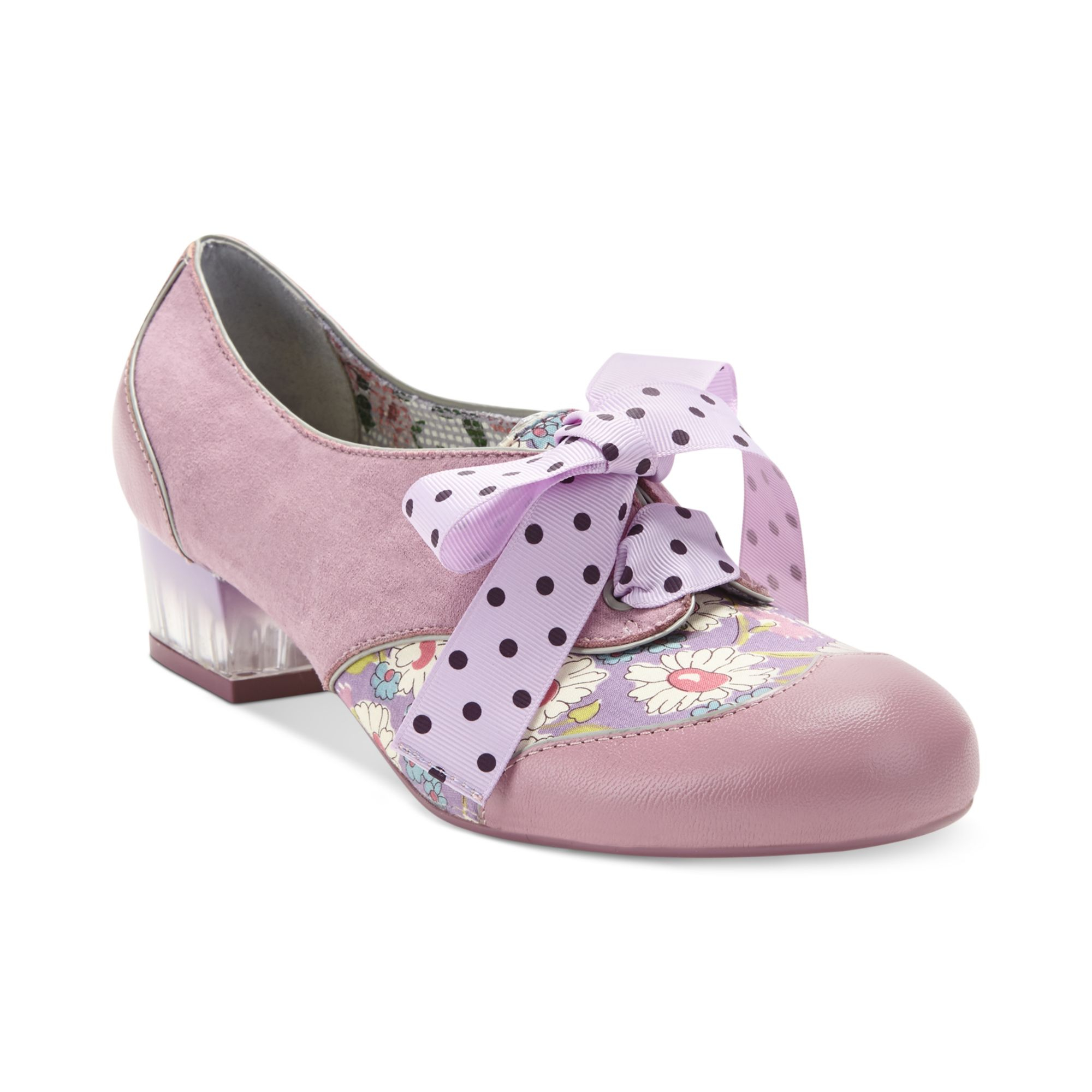 Poetic Licence Mark My Words Oxford Pumps In Pink (Old Pink) | Lyst