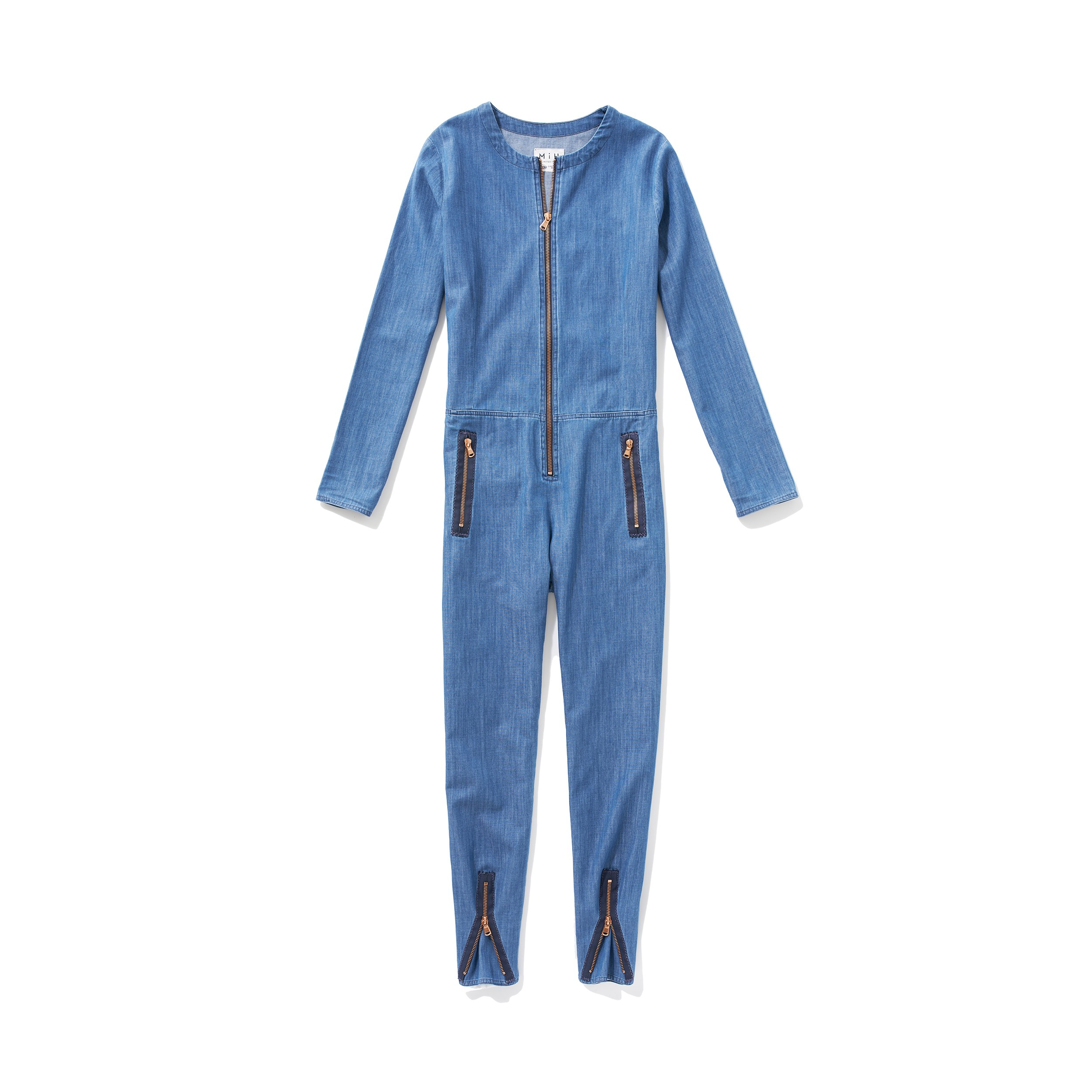 Lyst - M.I.H Jeans The Simple Boiler Suit in Blue