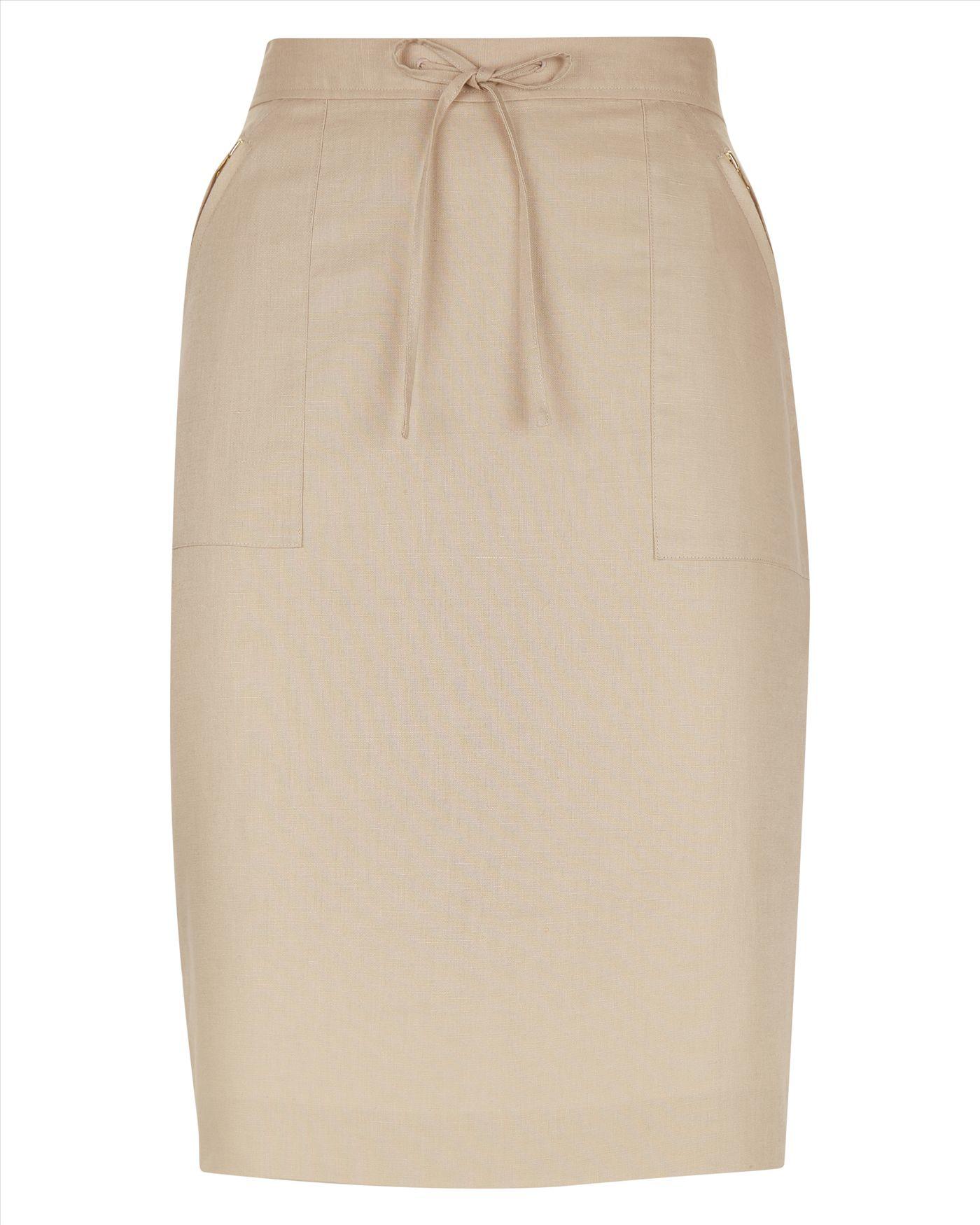 Cotton Linen Skirt 52