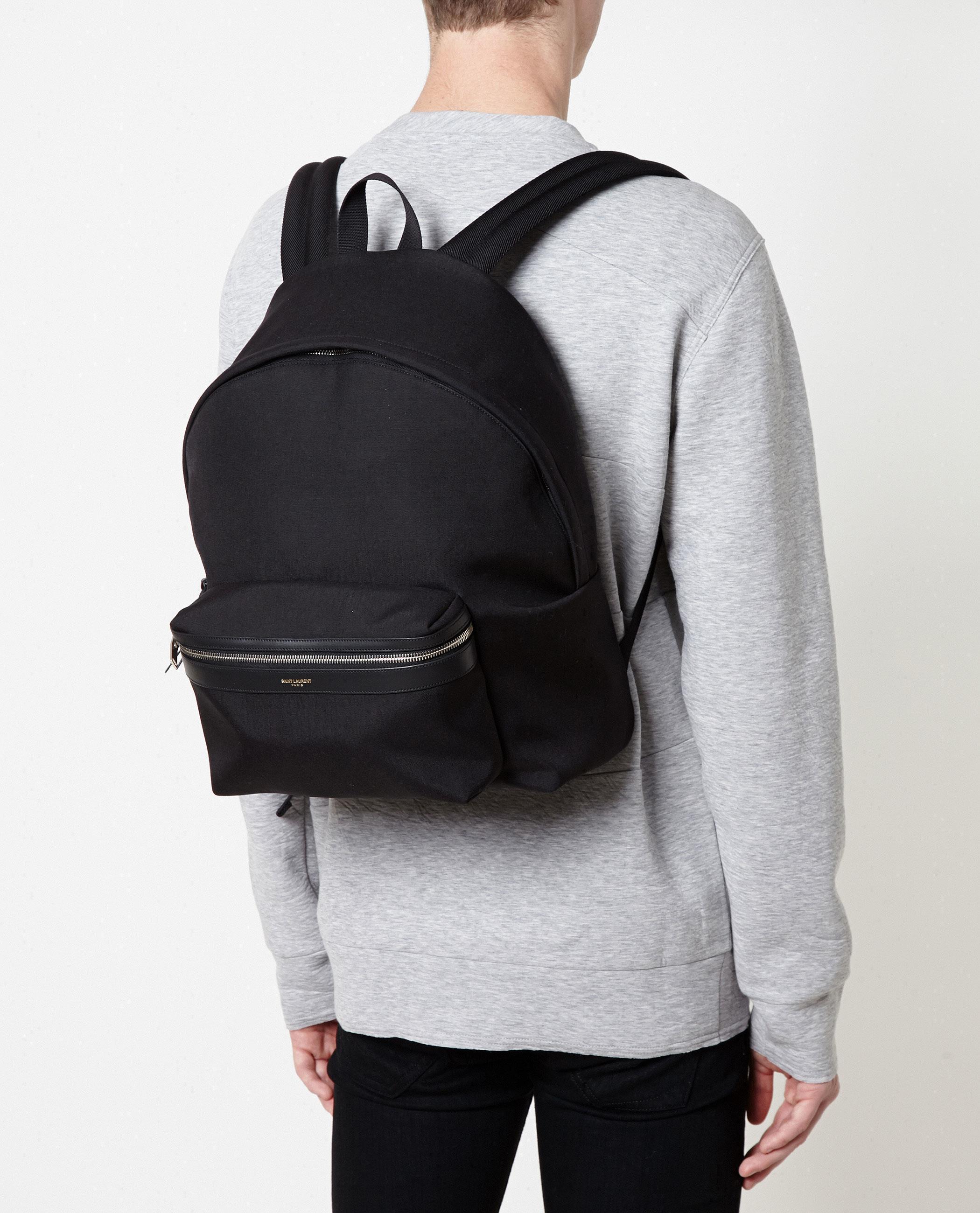 d042514fa Saint Laurent Classic Canvas Backpack in Black for Men - Lyst