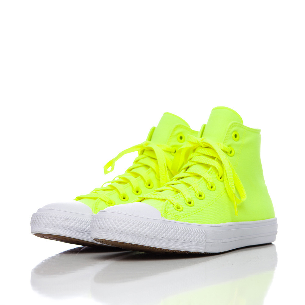 bbd48e3886b8 Lyst - Converse Chuck Taylor Ii Hi In Volt Green white in Yellow for Men