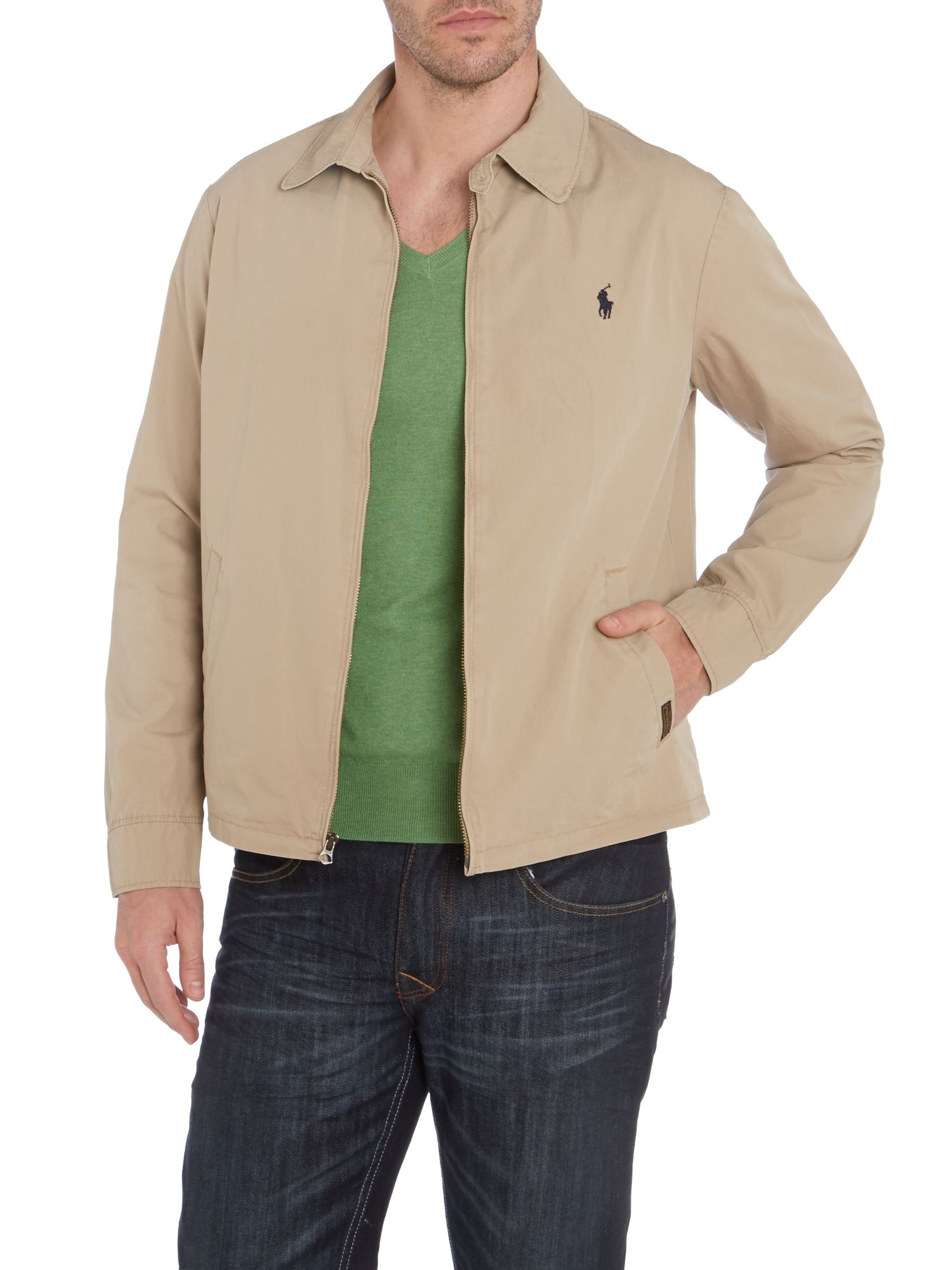 polo ralph lauren classic landon windbreaker jacket in. Black Bedroom Furniture Sets. Home Design Ideas