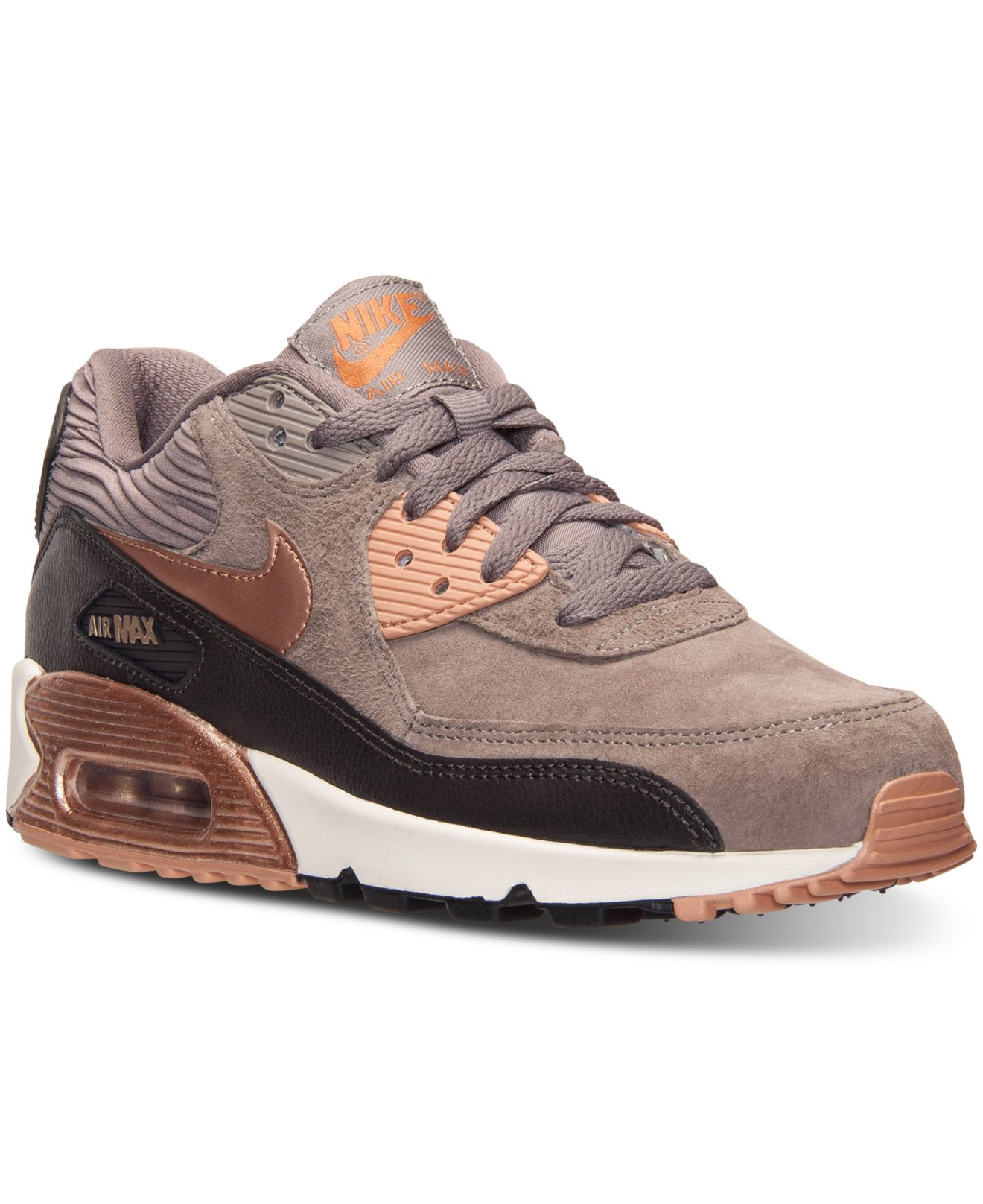 huge discount a7046 4236a Previously sold at Macy s · Women s Nike Air Max 90 ...