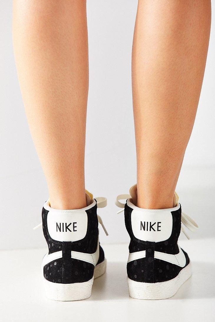 892555d1098d ... australia suede womens mid sneaker lyst black nike in blazer vintage  sqhxff 558b8 dde72