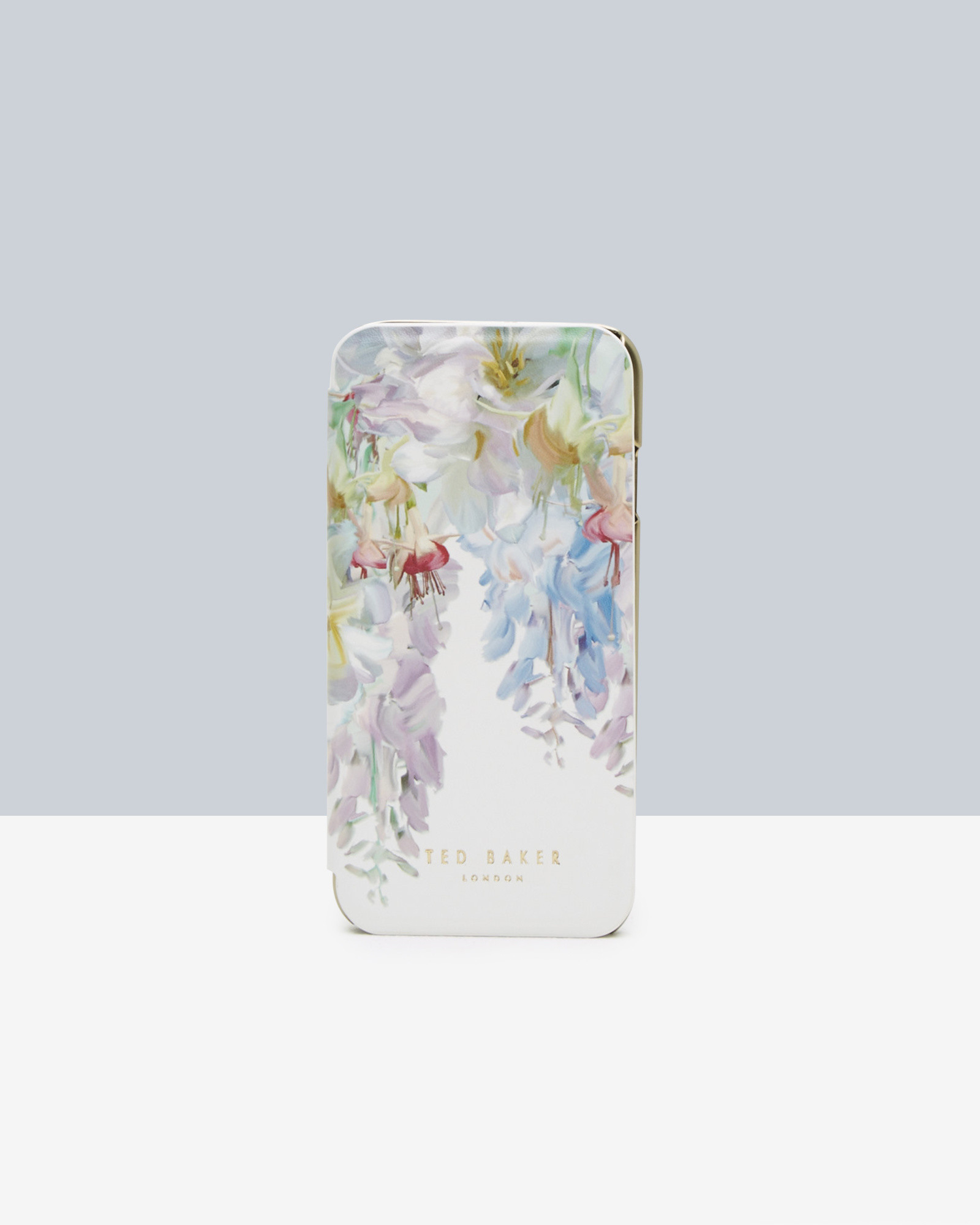 26ca035a4 Ted Baker Hanging Gardens Iphone 6 Case in White - Lyst