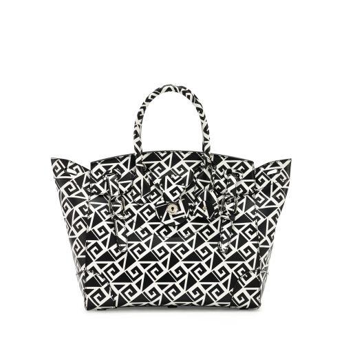 a65bda66b6d5 Lyst - Ralph Lauren Soft Ricky Bag in Black