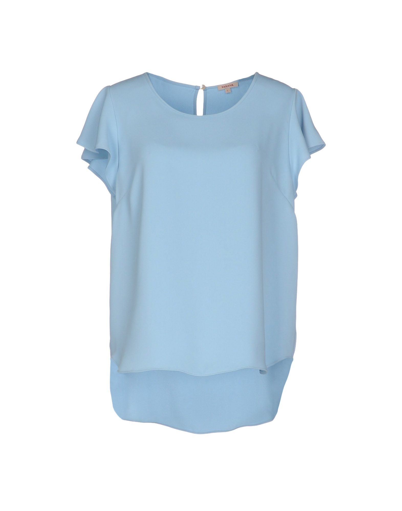 Sky Blue Womens Blouse 75