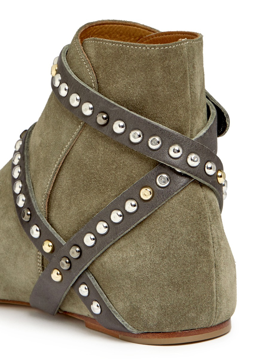 Étoile Isabel Marant Ruben Studded Ankle Boots free shipping clearance store sale online discount new arrival X63GeT