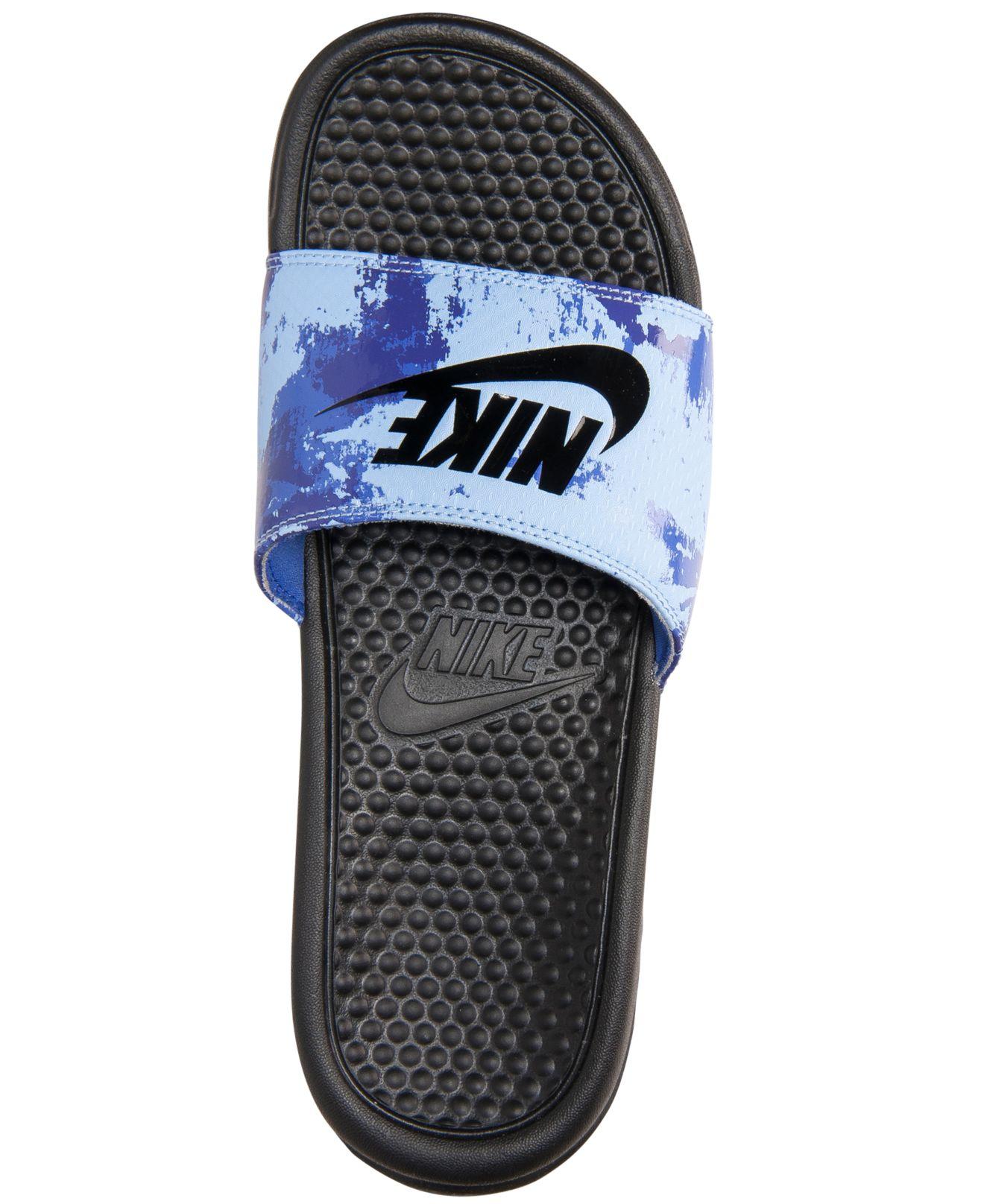 690b4cbb2617 ... cheap lyst nike mens benassi jdi print slide sandals from finish line  80f9f 9b2ab