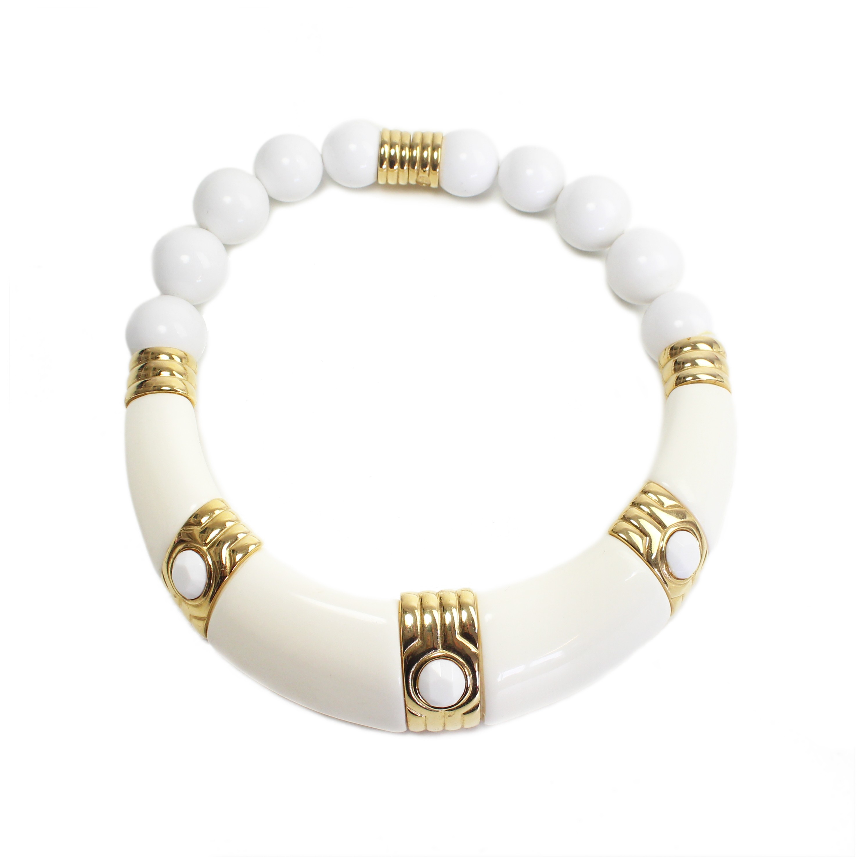 Rarities Givenchy White Necklace In White Lyst