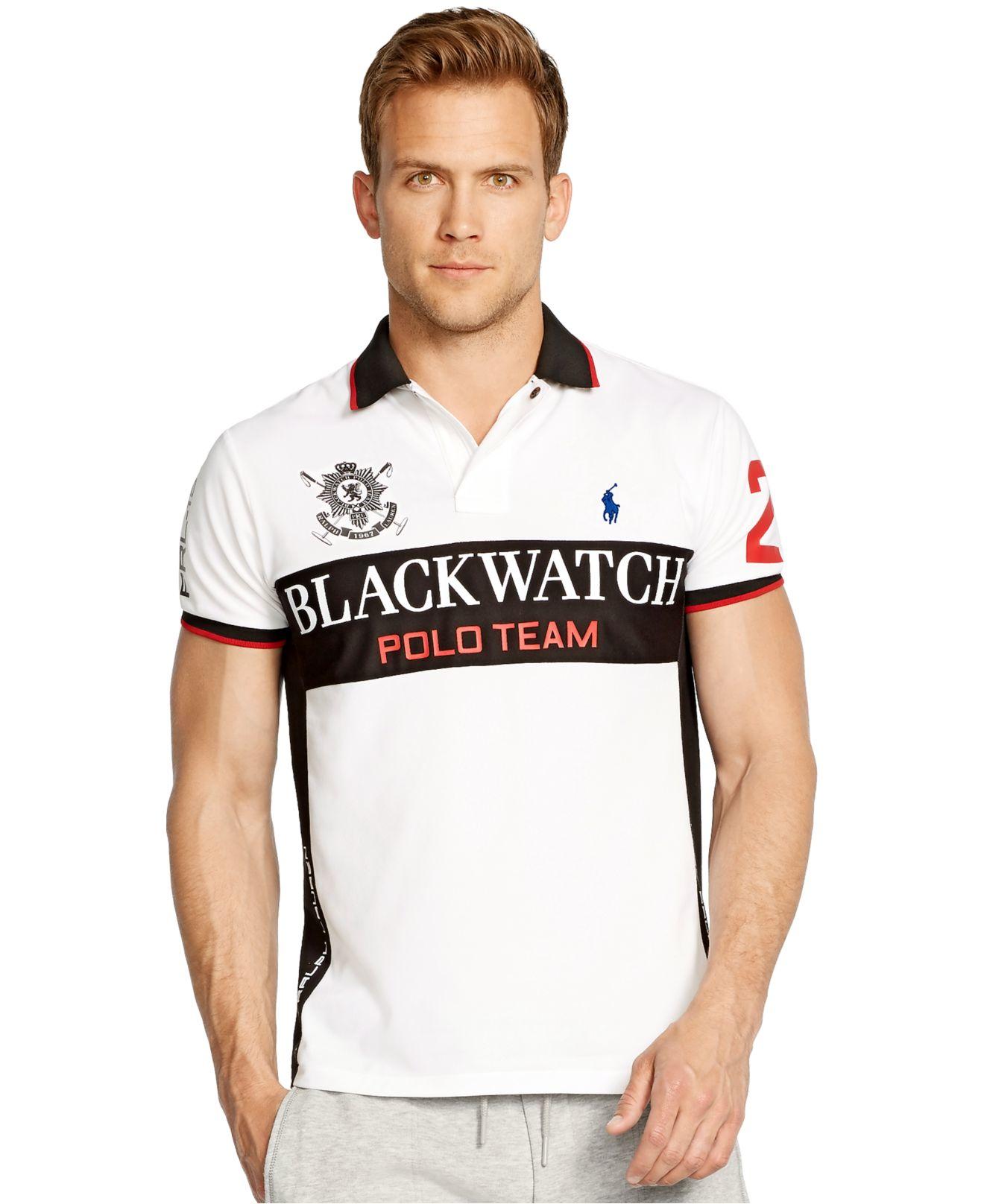 Lyst Polo Ralph Lauren Black Watch Custom Fit Performance Mesh