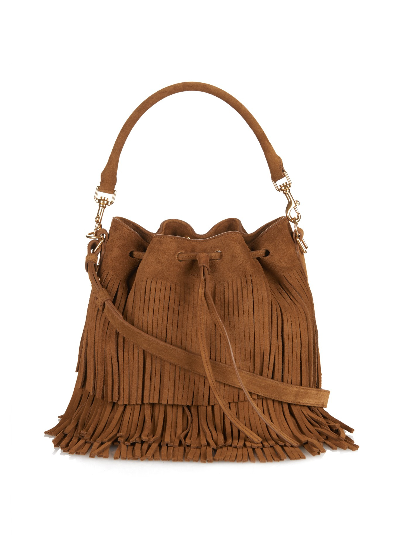 16396680aa Gallery. Previously sold at  MATCHESFASHION.COM · Women s Fringed Bags  Women s Saint Laurent Emmanuelle ...