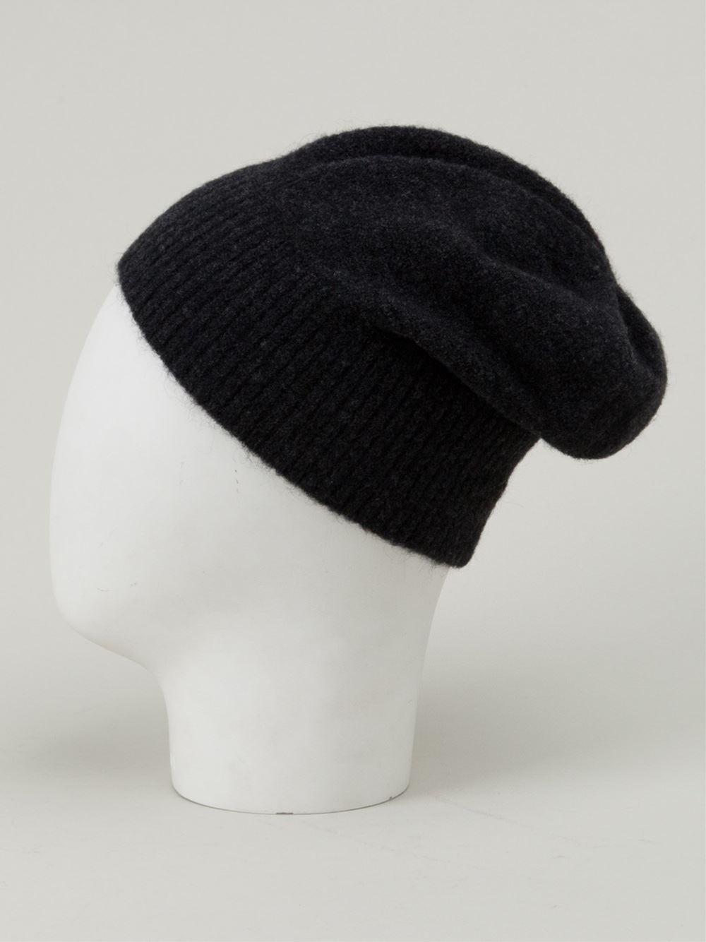 c9a5656b1bf Lyst - Balenciaga Beanie Hat in Black for Men