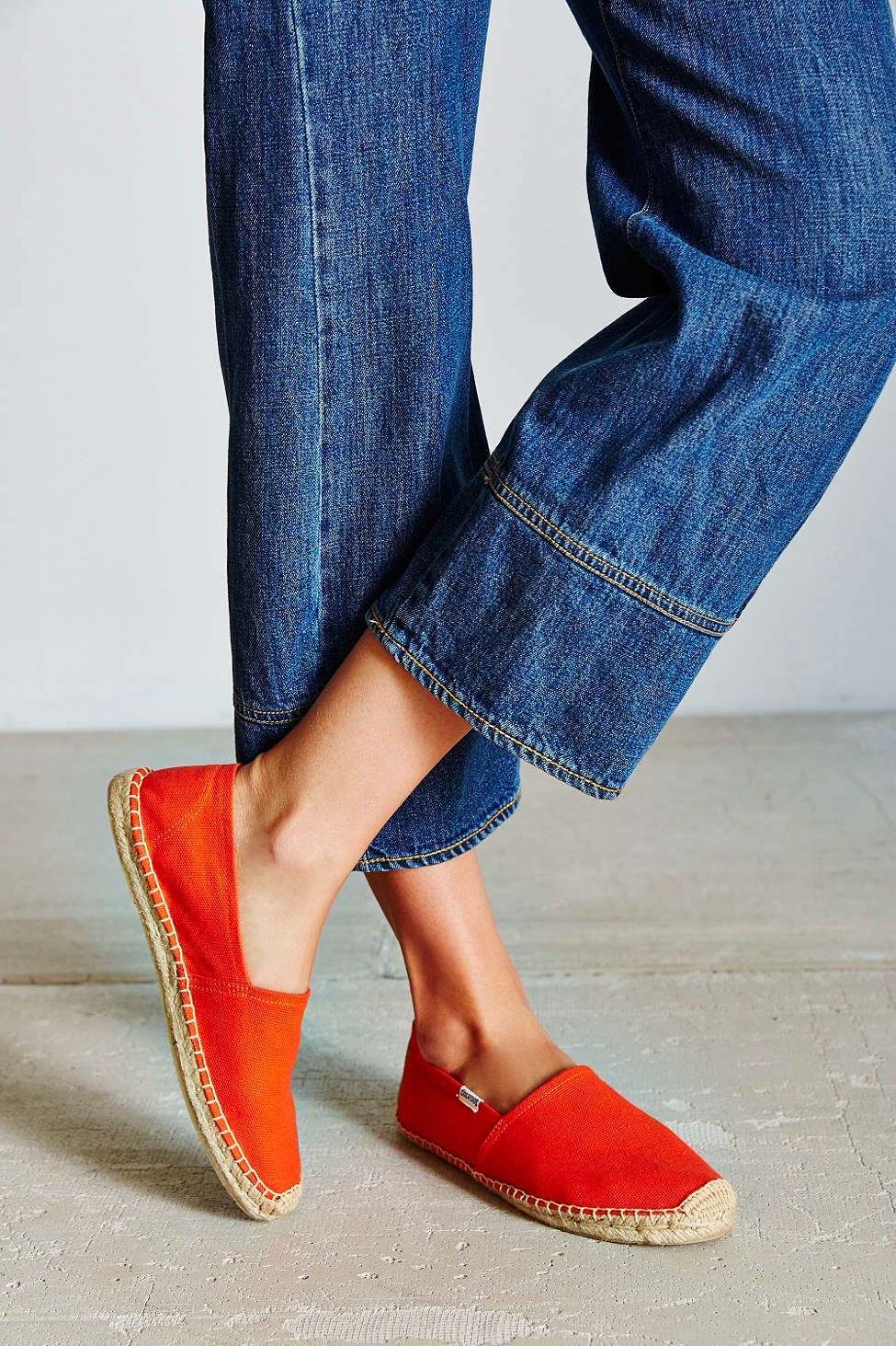 4d13b580d3e Lyst - Soludos Dali Espadrille Slip-on Shoe in Red