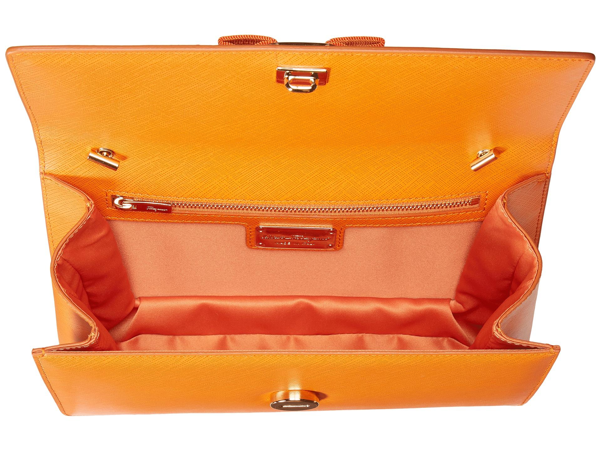 67a28d067c5a Lyst - Ferragamo Ginny 21e480 in Orange