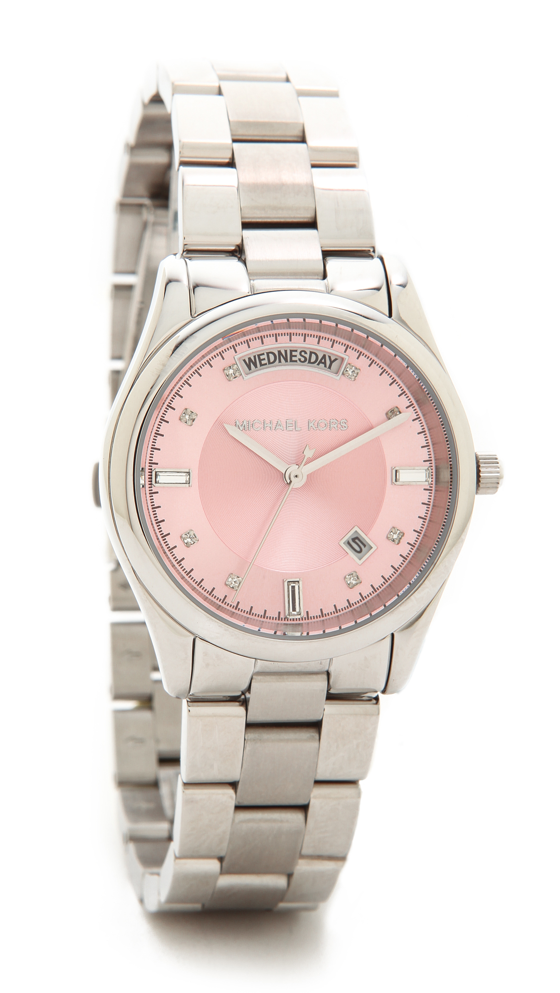 455e75b808ae Michael Kors Colette Watch - Icy Pink in Metallic - Lyst